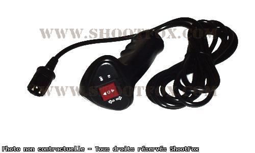 Commande manuel à câble pour treuil 4x4