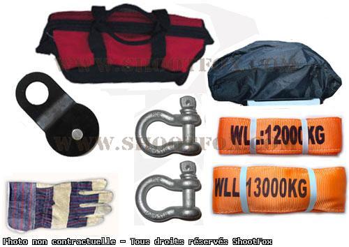 Kit Accessoires pour treuil - 8 pcs