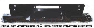 Platine de Montage Treuil 4x4 pour Jeep TJ