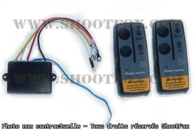 Télécommande Radio commandé pour treuil 12v